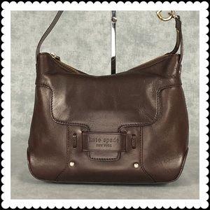 Kate Spade Brown Leather Hobo Shoulder Satchel